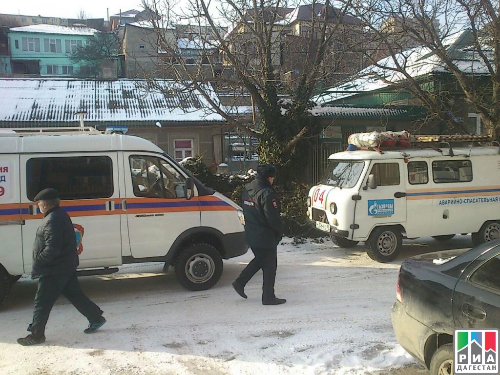 ВМахачкале вмногоквартирном доме произошел взрыв, есть пострадавшие