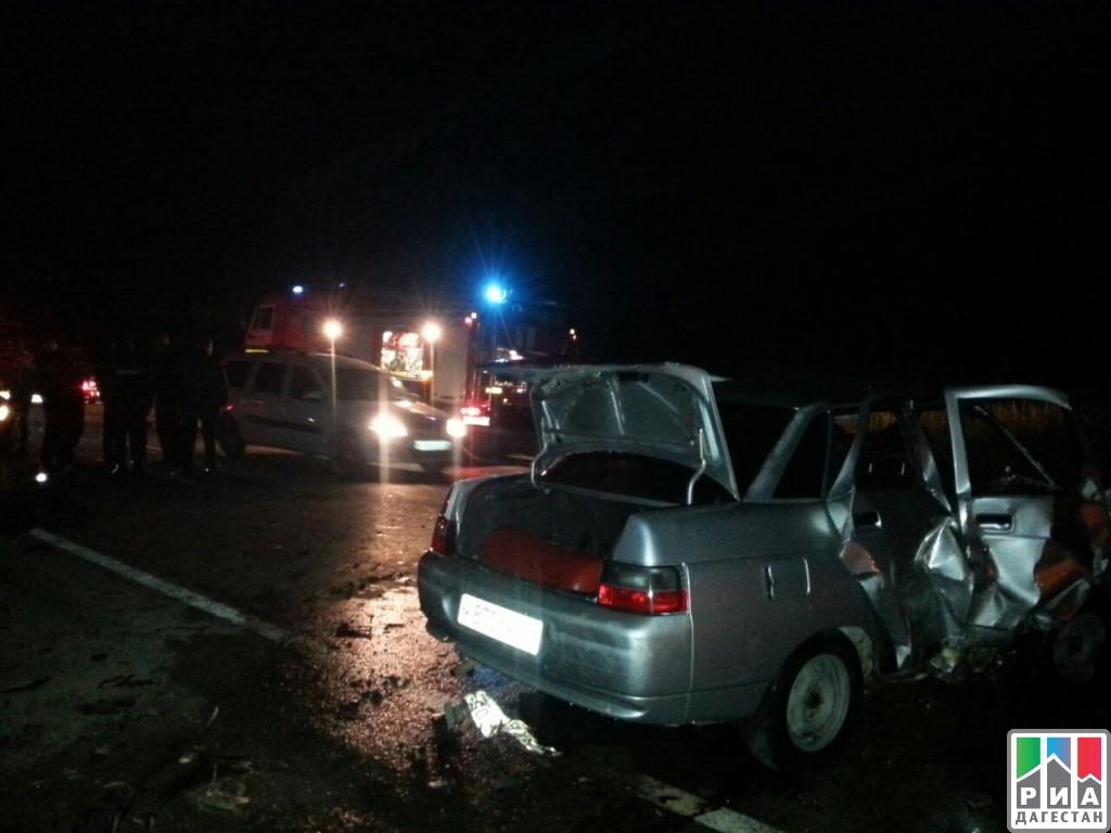 5 человек погибли вДТП вКаякентском районе Дагестана