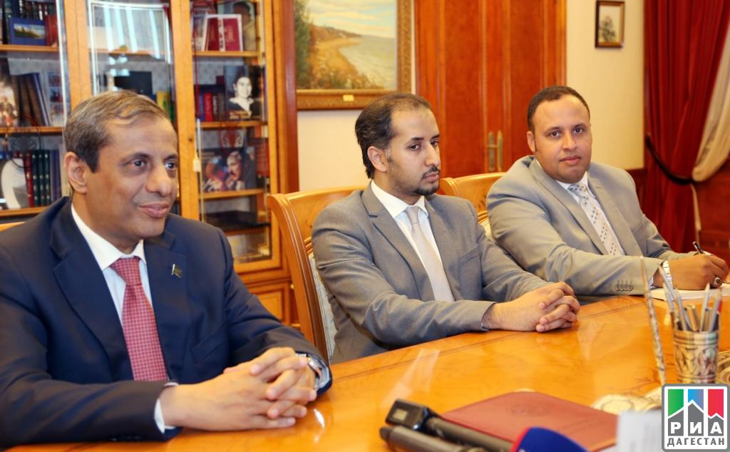 Руководитель Дагестана встретился спослом Саудовской Аравии в РФ