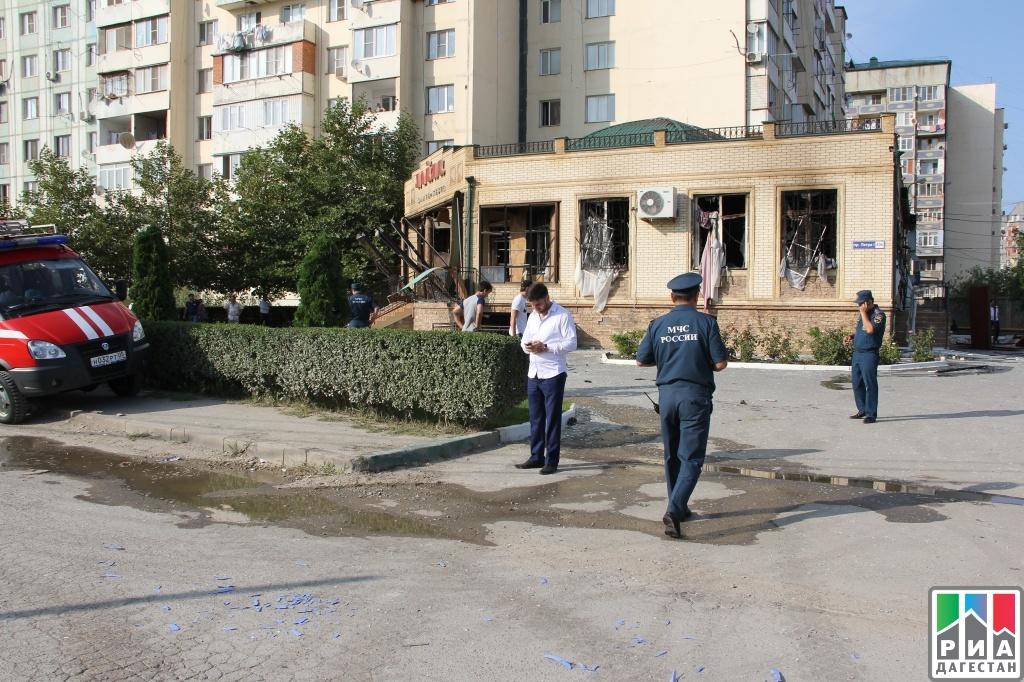 Профессионалы назвали предварительную причину взрыва вбанкетном зале вМахачкале