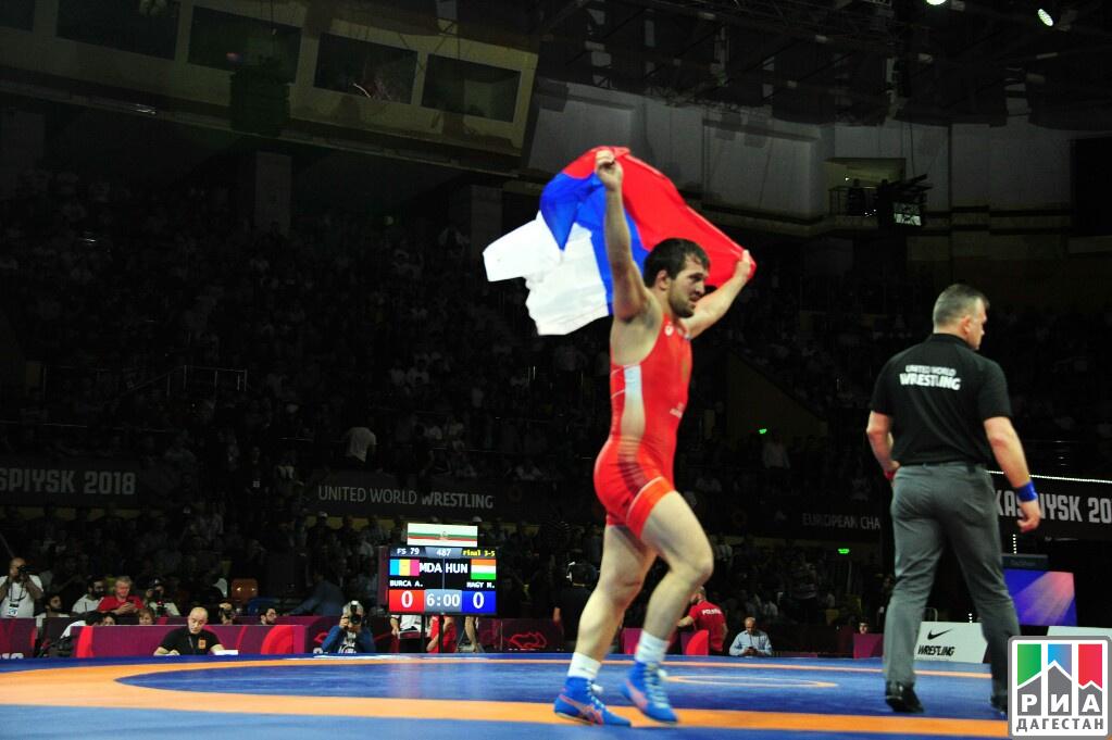 Рашидов принес РФ очередное золото чемпионата Европы вКаспийске
