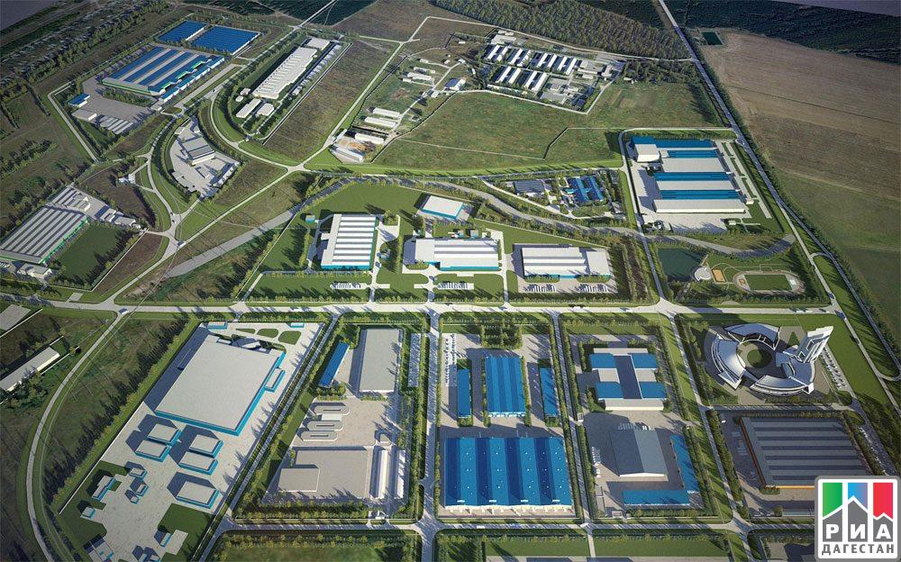 Уполномоченные европейских компаний осмотрели территорию будущего эко-промышленного парка вДербентском районе