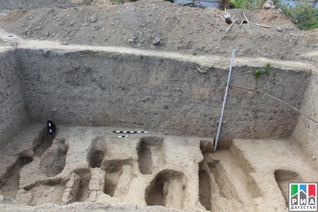 ВДербенте найдено мусульманское кладбище VIII—IX вв.еков