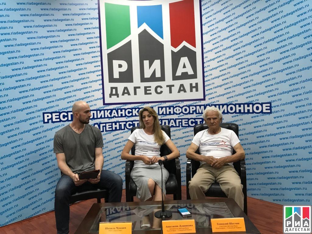 Участники автопробега «Красноярск— Северный Кавказ» прибыли вДагестан