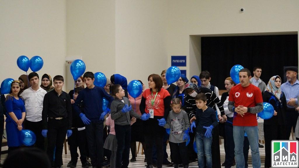 ВТуле прошла акция «Синий шар»
