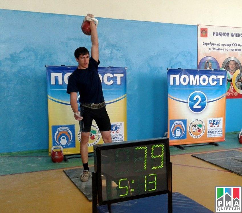 Дагестанец взял золото начемпионате Европы погиревому спорту