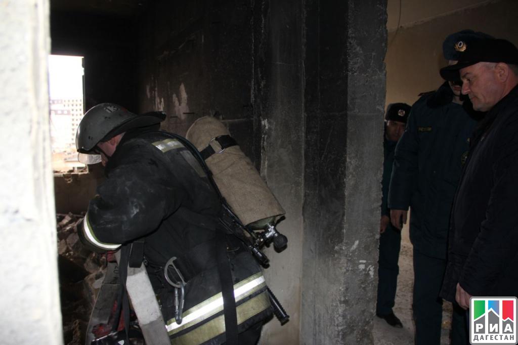 ВМахачкале произошел взрыв газа вжилом доме