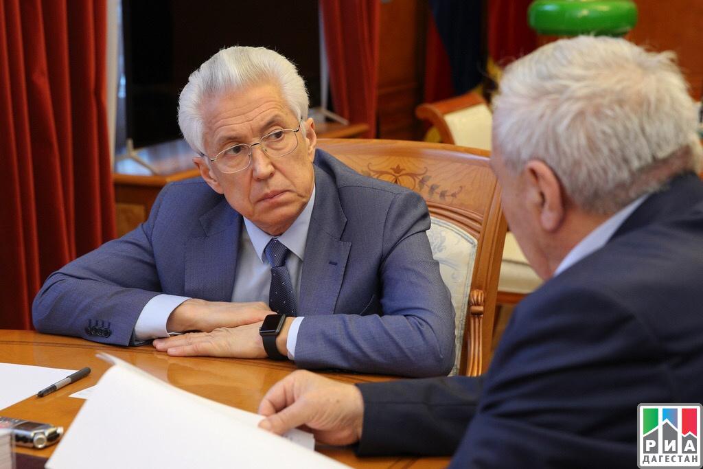 Владимир Васильев ипредседатель Совета старейшин при ГлавеРД обсудили вопросы взаимодействия