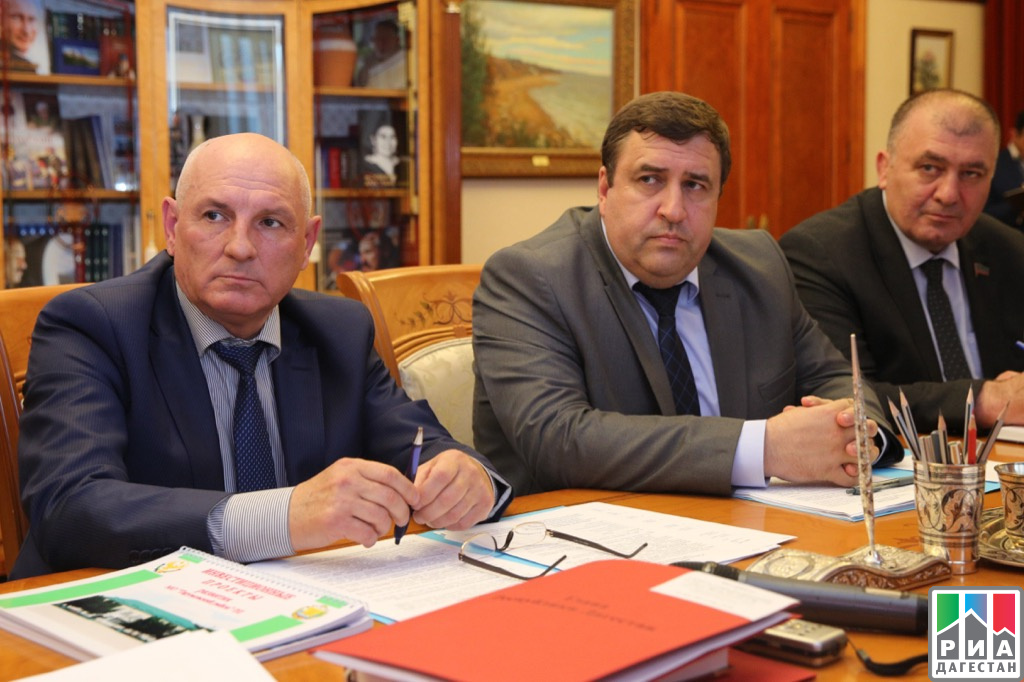 Руководителя 2-х районов Дагестана отчитались перед Главой Республики о сделанной работе