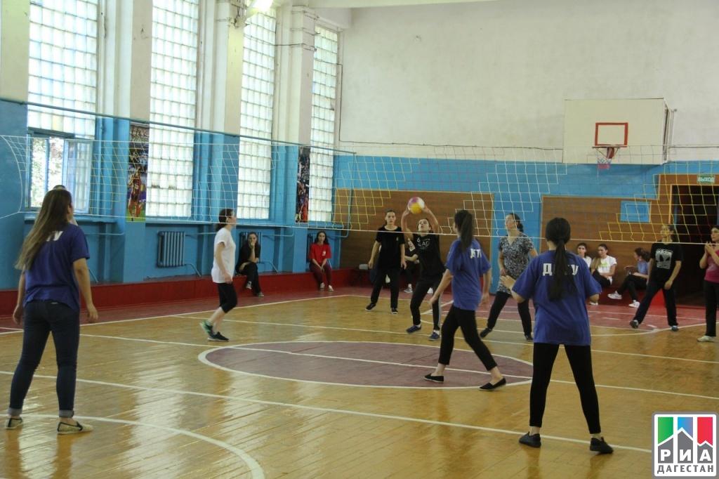 Первенство по волейболу среди юношей состоялось в кайтагском районе