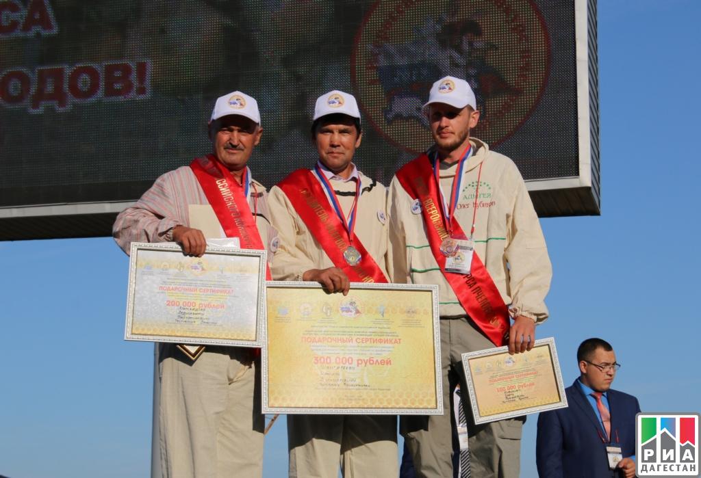 Дагестанец стал призером Всероссийского конкурса пчеловодов