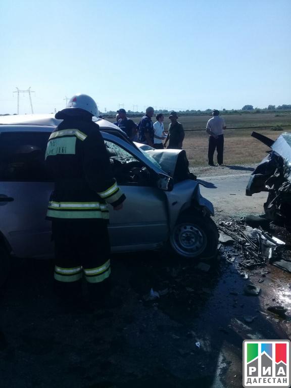 Пять человек погибли в результате аварии в Дагестане