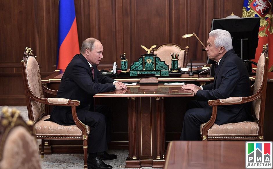 Врио руководителя Дагестана назначен вице-спикер Государственной думы РФ