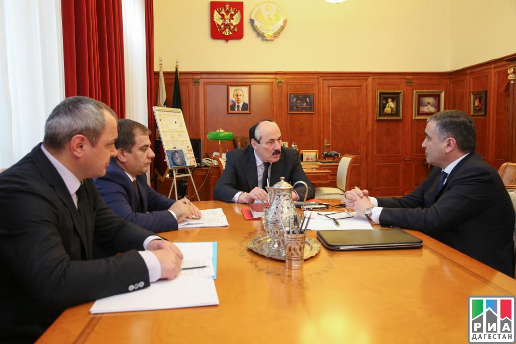 Рамазан Абдулатипов иОлег Хацаев обсудили вопросы развития горных территорий Дагестана