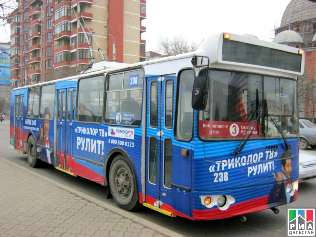 Для нужд Махачкалы иКаспийска закупят 30 новых троллейбусов
