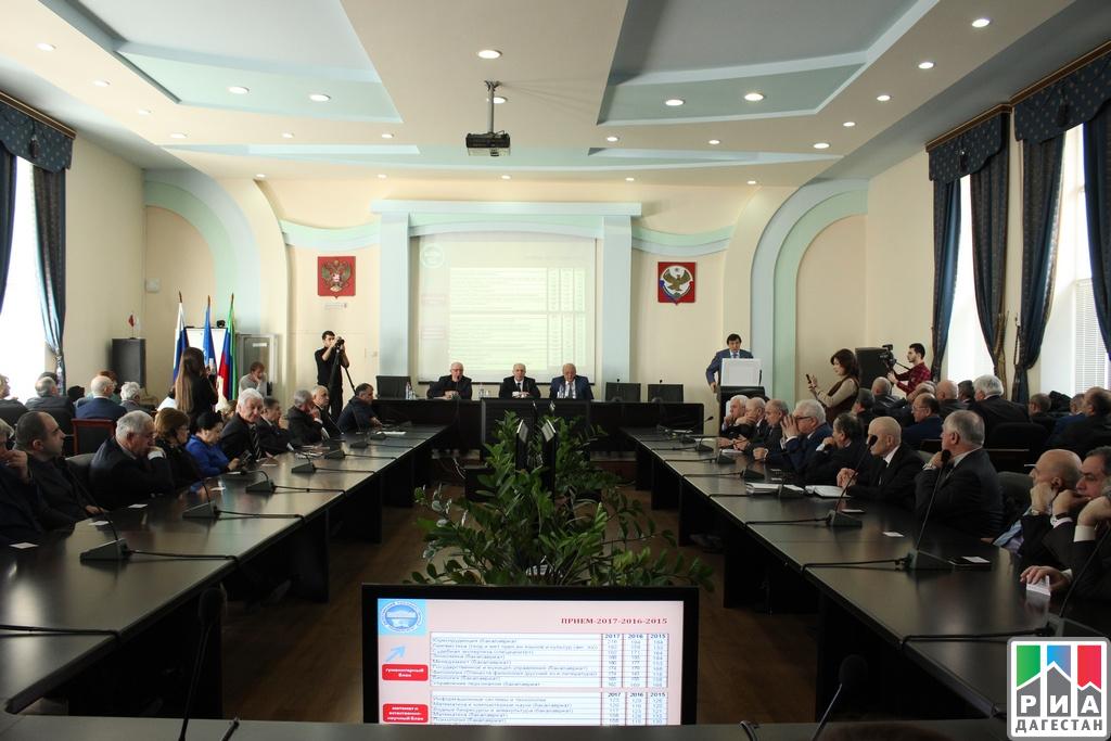 Ректором ДГУ натретий срок переизбран Муртазали Рабаданов
