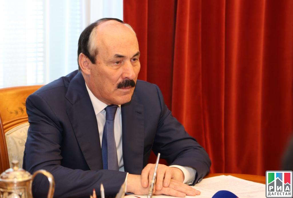 Глава Дагестана встретился с послом Саудовской Аравии в России