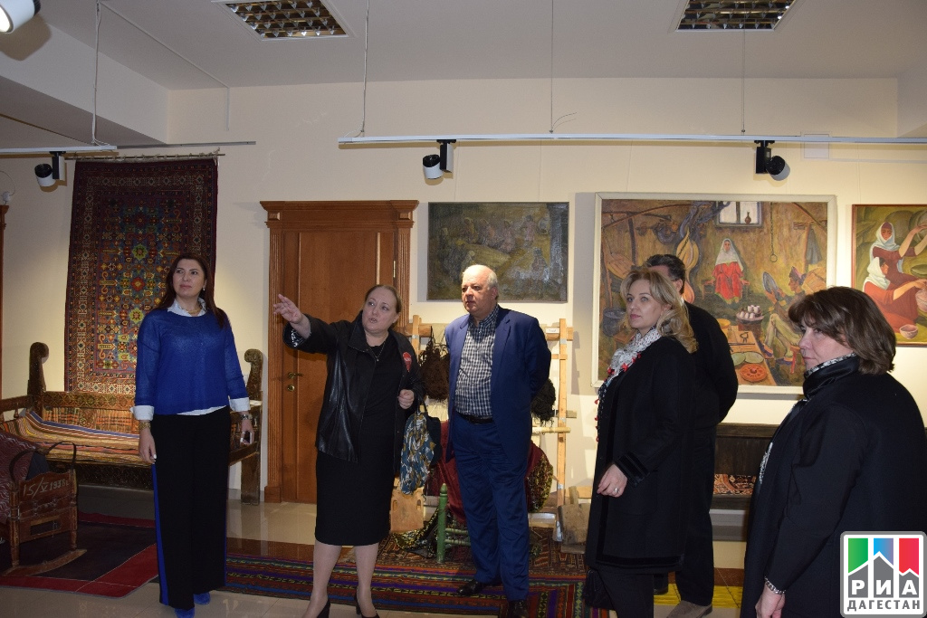 ВДоме дружбы презентовали модельный центр народов Дагестана