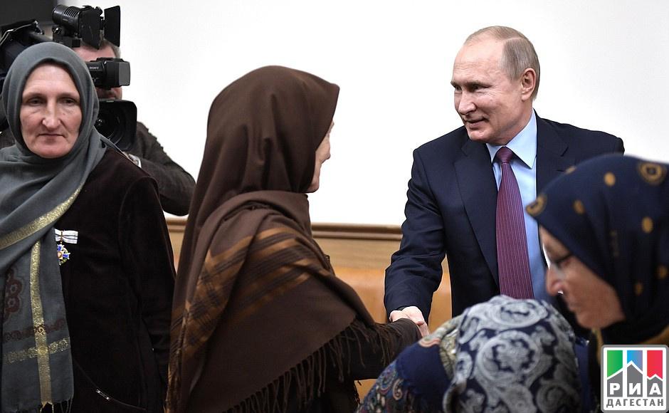 ВДагестан необходимо привлекать иностранных  инвесторов— Владимир Путин