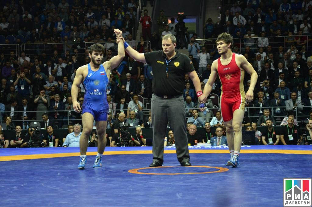 Дагестанец Заур Угуев стал чемпионом РФ повольной борьбе