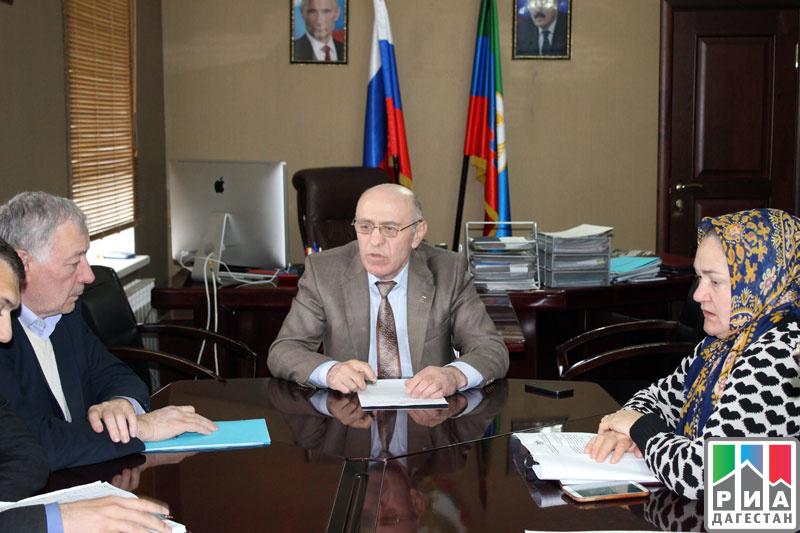 В Цумадинском районе обсудили вопрос оказания помощи пострадавшим при взрыве подросткам